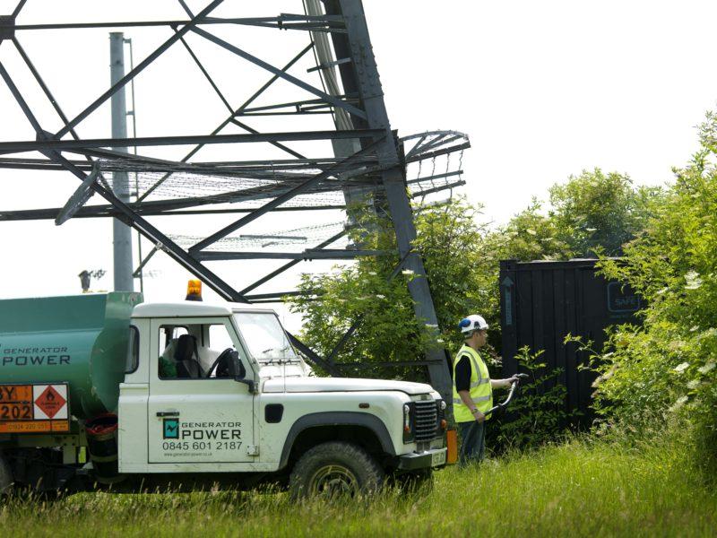 Fuel Management Service   Generator Power