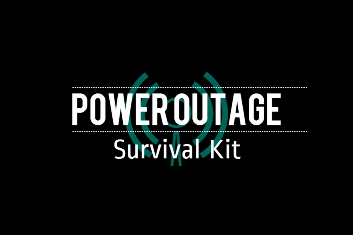 Power Outage Survival Kit (Infographic)